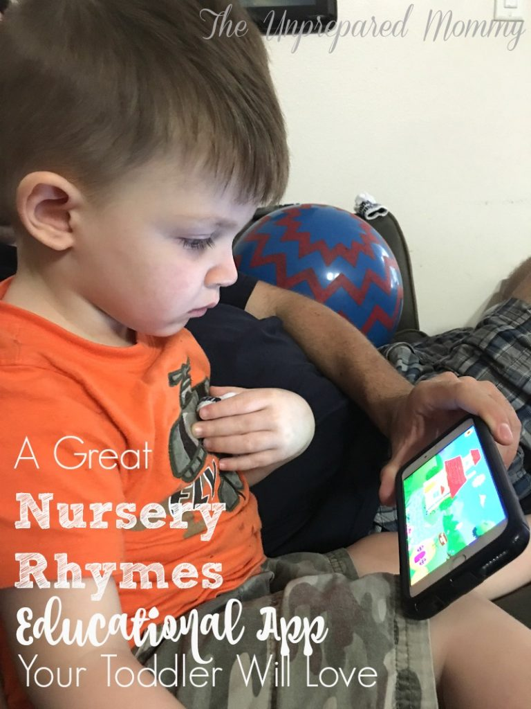 nursery rhyme educational app