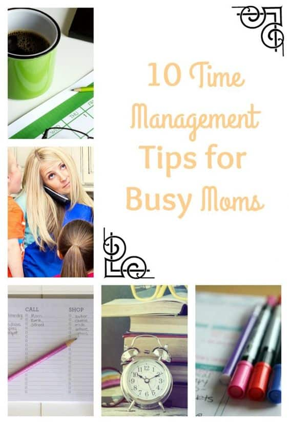 time management moms