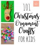 101 Christmas Ornament Crafts for Kids