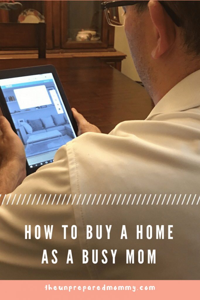 how to buy a home as a busy mom