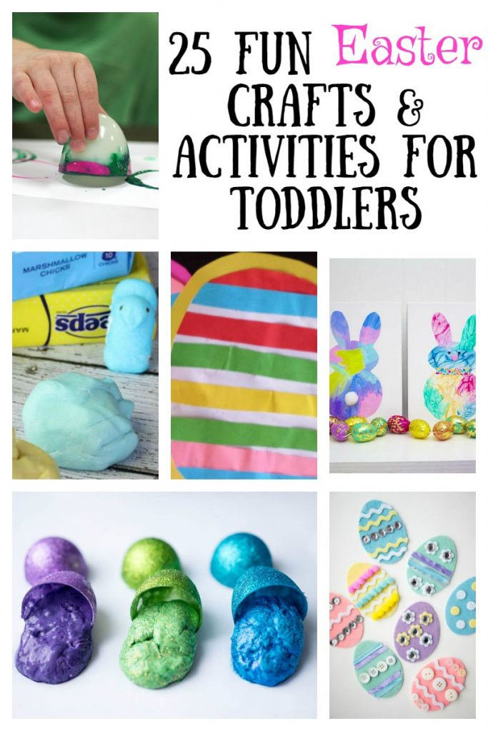 25 Fun Easter Crafts And Activities For Toddlers The Unprepared Mommy
