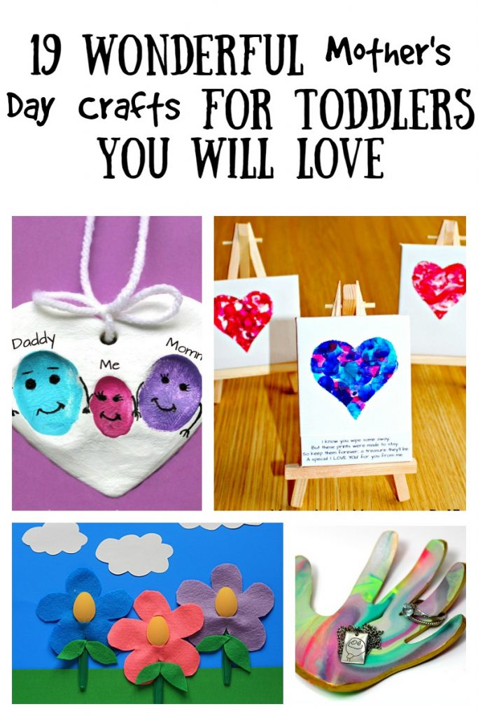 19 Wonderful Mothers Day Crafts For Toddlers The Unprepared Mommy