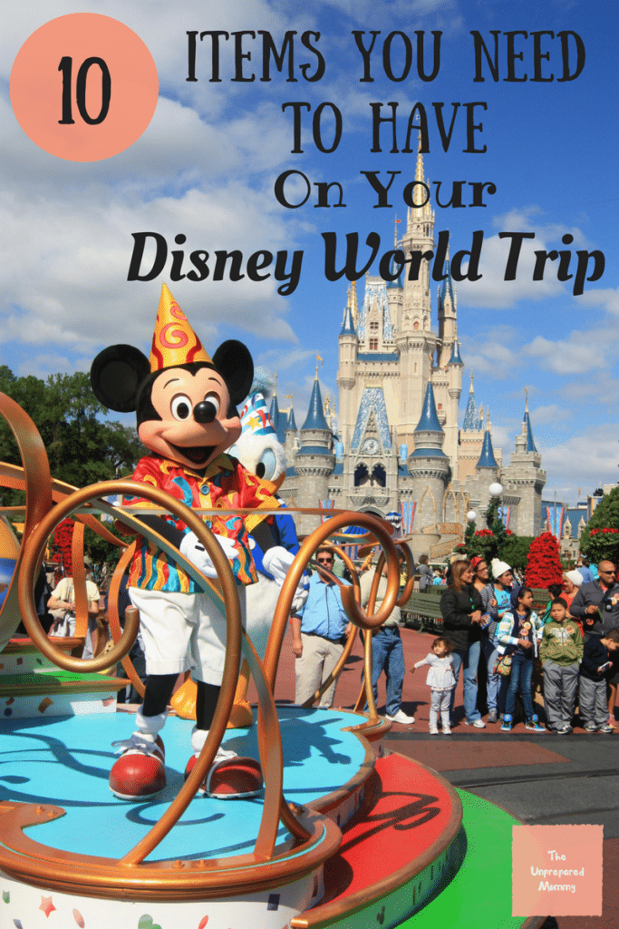If you are heading to Disney World, you will definitely need to have these 10 items with you. Have a fantastic time at Disney World!
