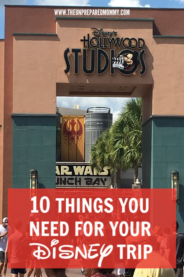 When going to Disney World with a toddler, you have to bring these ten items with you. #disney #disneyworld #disneytrip #disneytipsandtricks