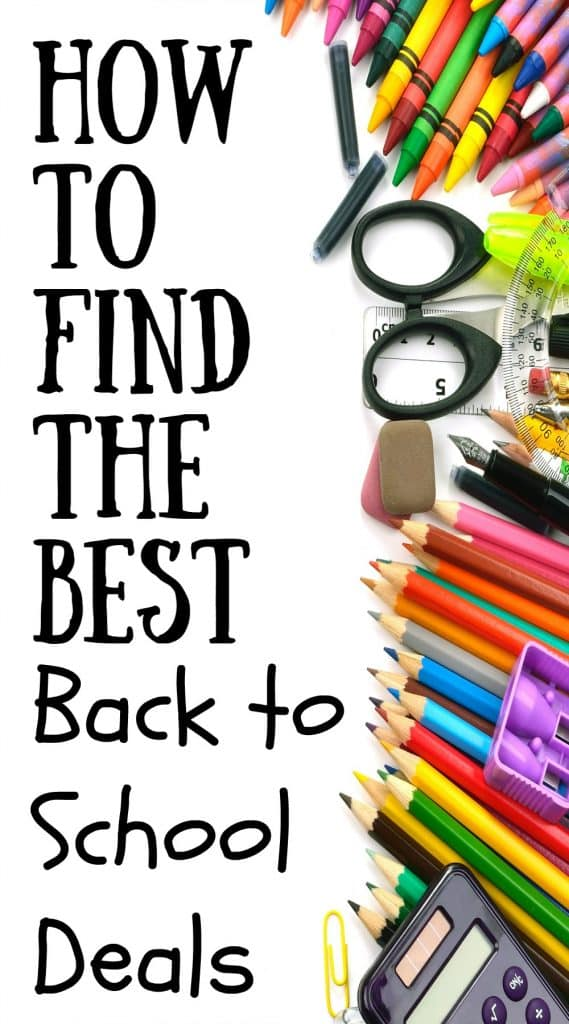 Shopping for back to school can be a pain in the butt. However, shopping at these places will help you get the best back to school deals to make it a little less painful.