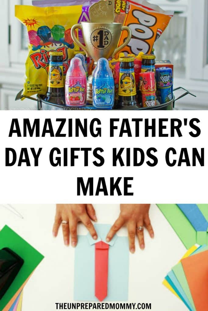 Have a great time making these Father's Day crafts for toddlers and show Daddy how much he is loved. #fathersday #kids #kidscrafts