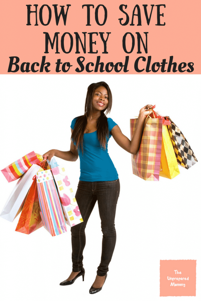 How to Save Money on Back to School Clothes Shopping