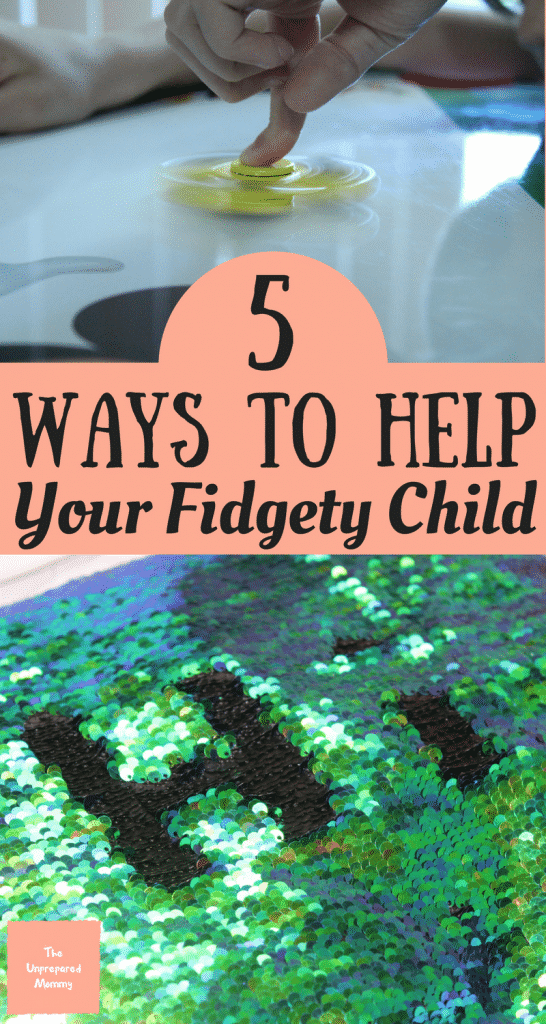 Sitting for hours on end can make anyone want to bounce around. These 5 ways to help your fidgety child will redirect their energy so they can focus on the task at hand.