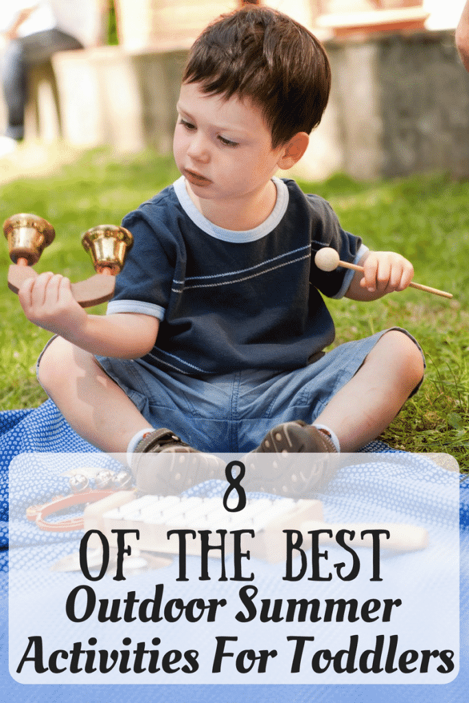 Best outdoor summer activities for toddlers