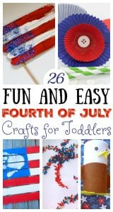 Fourth of July Crafts for Toddlers