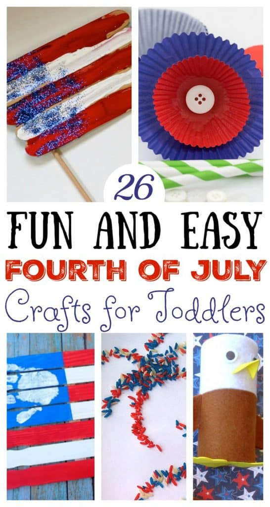 26 Easy And Fun Fourth Of July Crafts For Toddlers The Unprepared