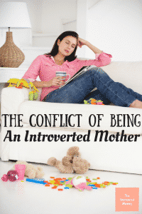 It is hard to balance spending time with your kids and getting alone time for all moms, but especially introverted mothers.