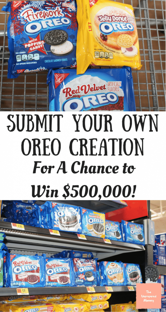 OREO creation contest