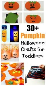 These are easy pumpkin Halloween crafts for toddlers and preschoolers to make this fall will make art your kids can be proud of!