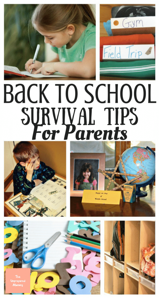 Back to school survival tips | Back to school
