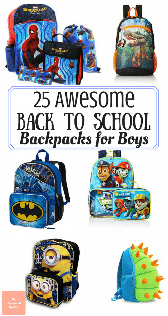 back to school | backpacks for boys