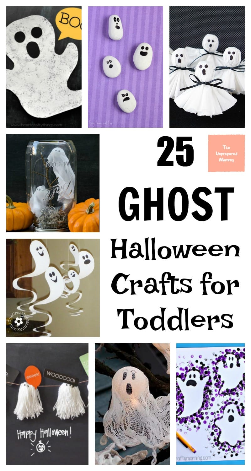 halloween crafts for toddlers 25 ghost crafts for toddlers the unprepared 4606