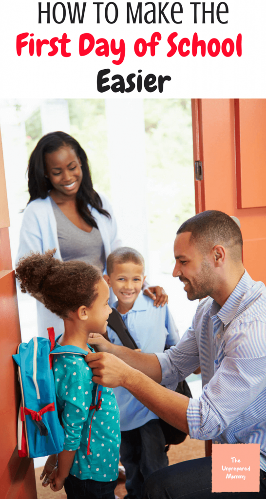 The first day of school can be scary, but it doesn't have to be. Learn ways to make the first day of school easy for your child.