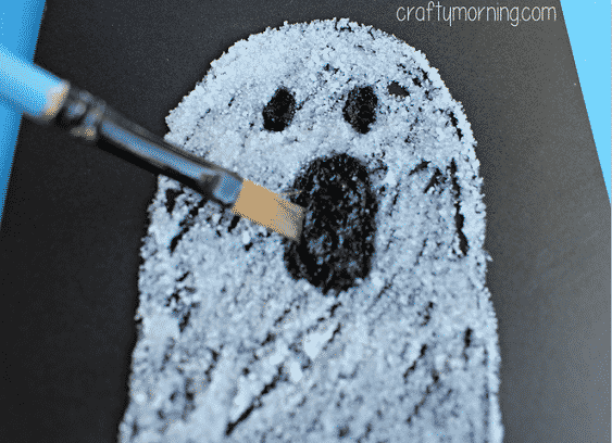 Ghost Halloween crafts