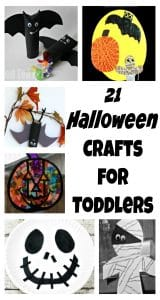Halloween crafts for toddlers to make.