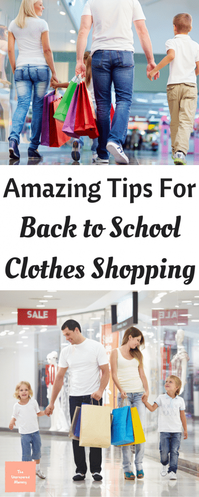 Going back to school clothes shopping can become overwhelming and expensive, very quickly. Read these amazing tips and you will have a much easier time.