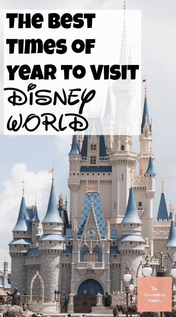 Ever wonder when is the best time to visit Disney World? Well wonder no more!