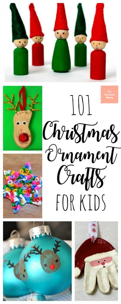 I absolutely love all of these Christmas ornament crafts for kids. There are so many options to create memories!