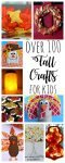 105 Fall Crafts and Activities for Toddlers and Preschoolers