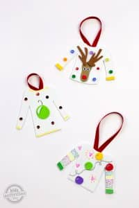 christmas ornament crafts for toddlers