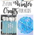 25 Fun Winter Crafts for Kids