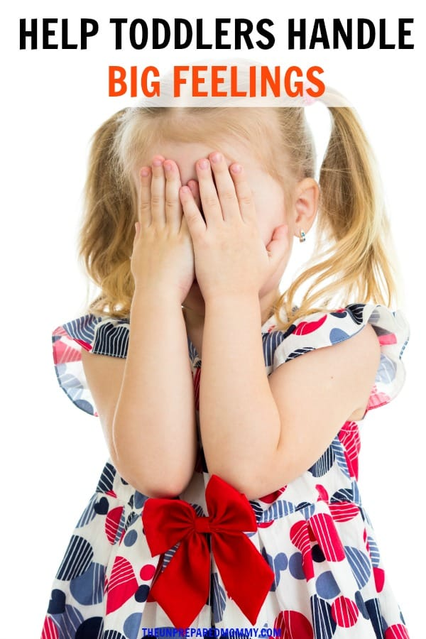 Learn how to help your toddler sort out their big feelings. #toddler #kids #parenting