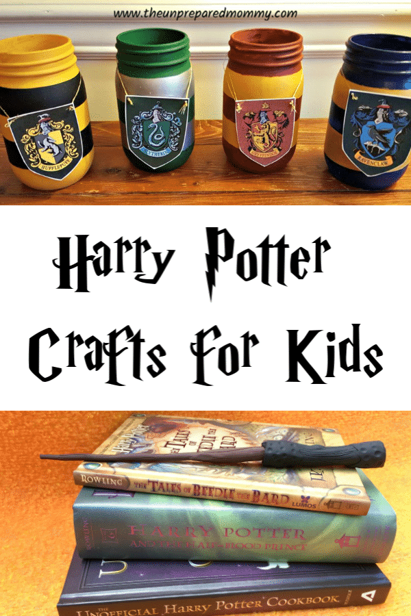 These amazing Harry Potter crafts are great for kids of any age! #harrypotter #kidscrafts