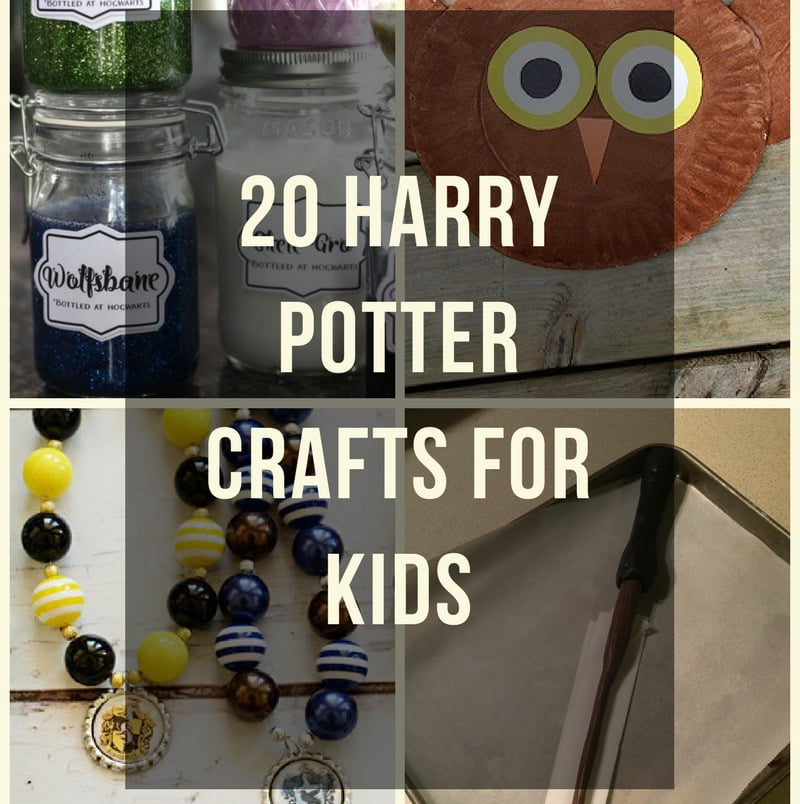 Easy Crafts Harry Potter