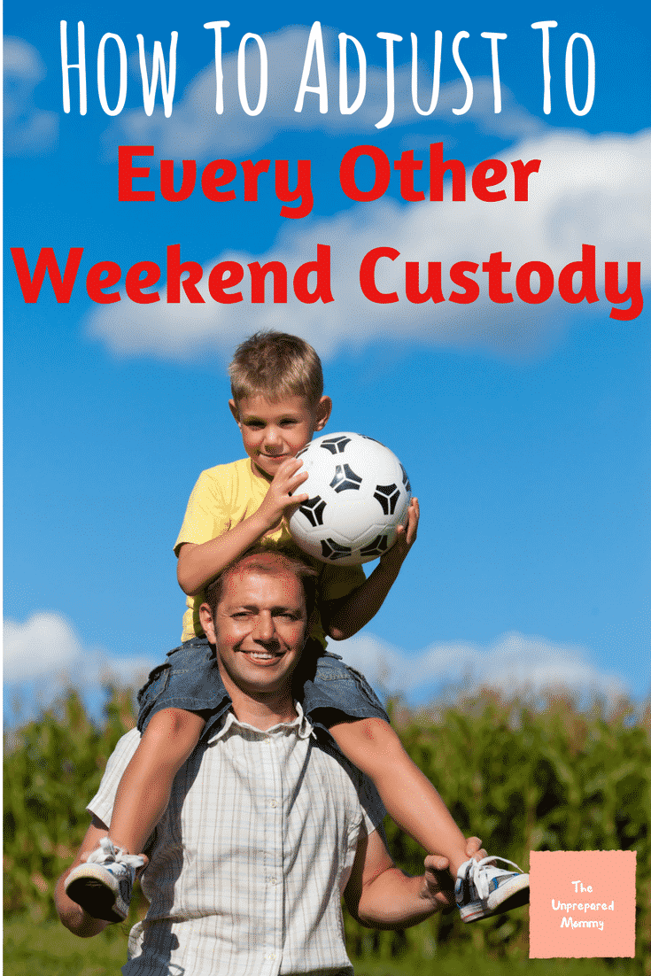 Divorce with kids is hard, but you can make every other weekend custody work for your family.