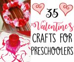 35 Valentine Crafts for Preschoolers