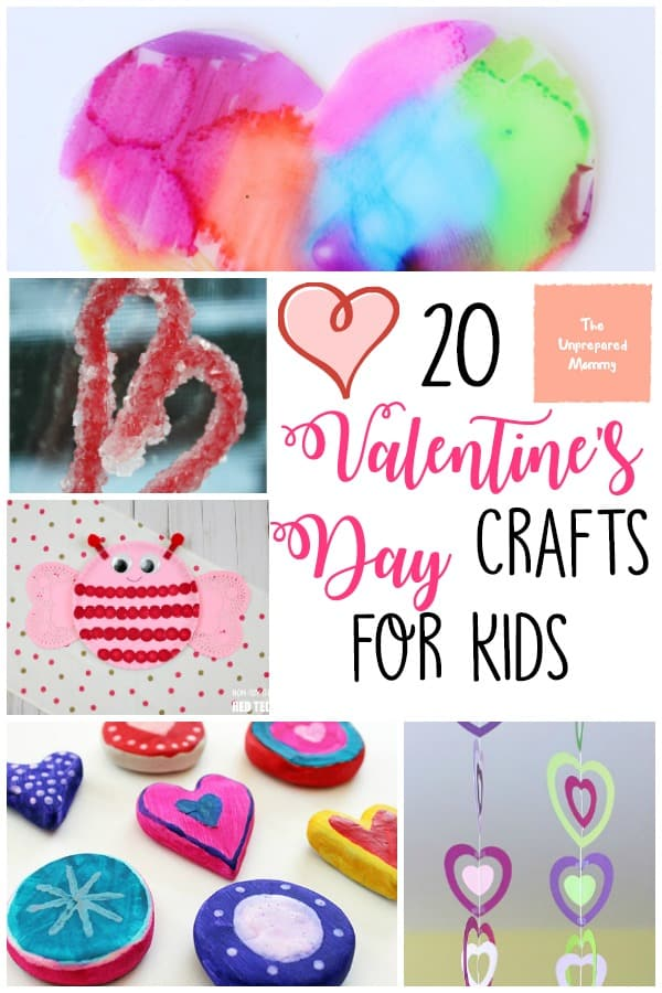 Enjoy time with your loves while doing these Valentine's Day crafts for kids. #valentines #valentinescrafts #kids #crafts