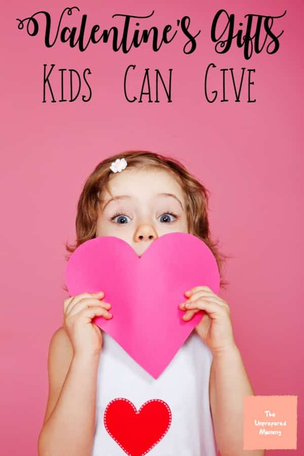 These Valentine's gifts for kids to make are great because they can show their love for anyone with them. #valentines #valentinesgifts #kids