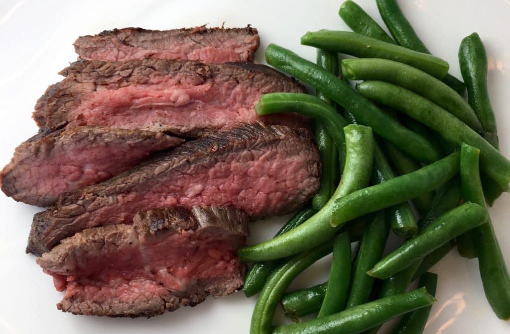 cast iron skillet steak