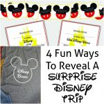 4 Fun Ways To Reveal A Surprise Disney Trip
