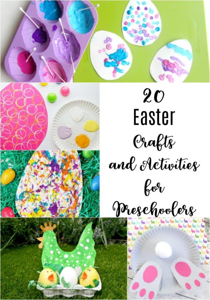 Easter Crafts And Activities For Preschoolers The Unprepared Mommy