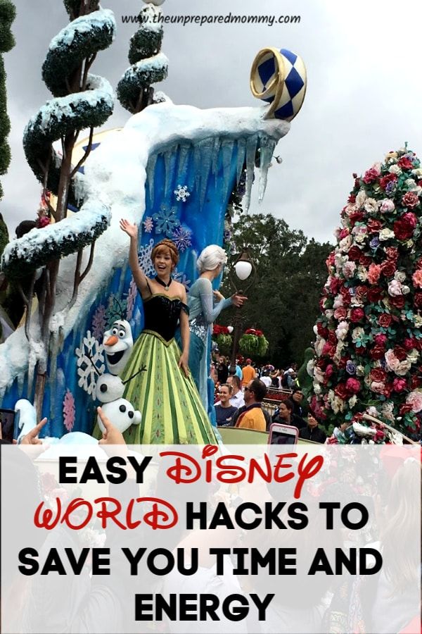 These Disney World hacks are a great way to save you time and energy while having a magical vacation! #disney #disneyworld