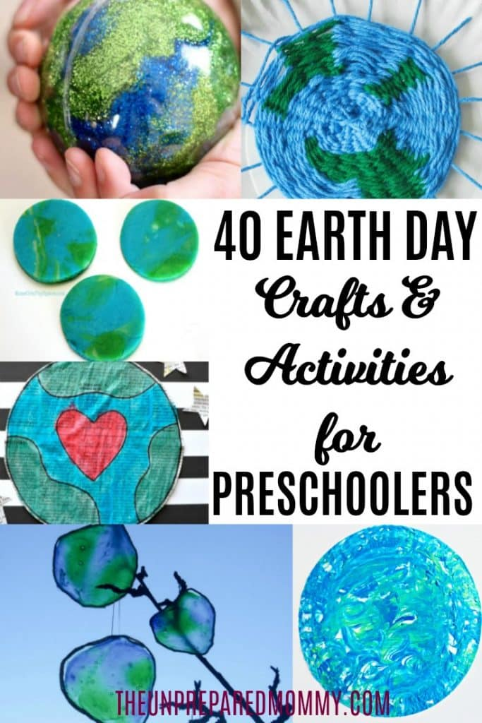 40 Earth Day Activities And Crafts For Preschoolers The