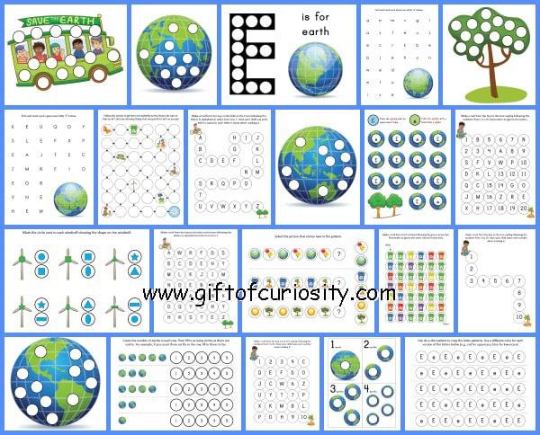 Earth day activities for preschool