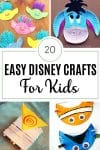 20 Easy Disney Crafts for Kids