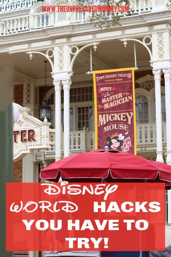 Use these Disney World hacks to have a much better vacation! #disney #disneyworld #hacks