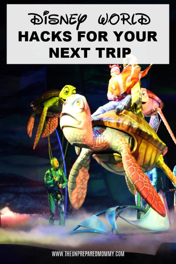 You have to try these Disney World hacks for your next trip, they saved mine! #disneyworld #disney #disneyvacation #disneyworldtips