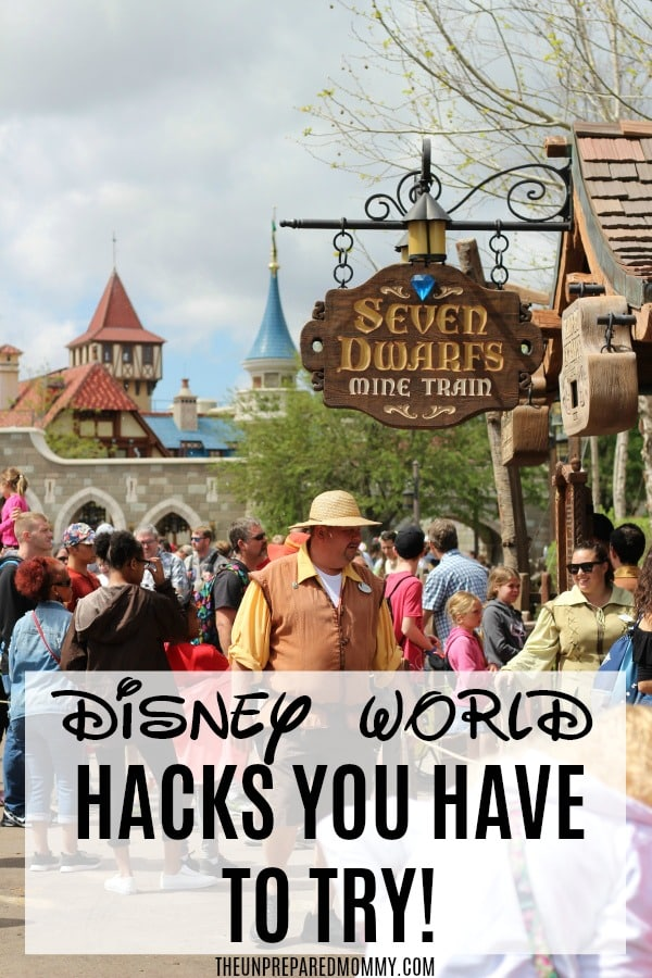 The next time you go to Disney World, you must try these Disney World hacks! #disney