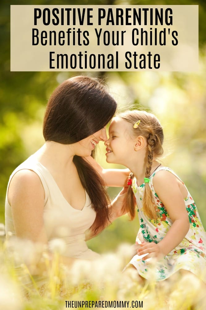 There are several positive parenting benefits that boost your child' emotional state.