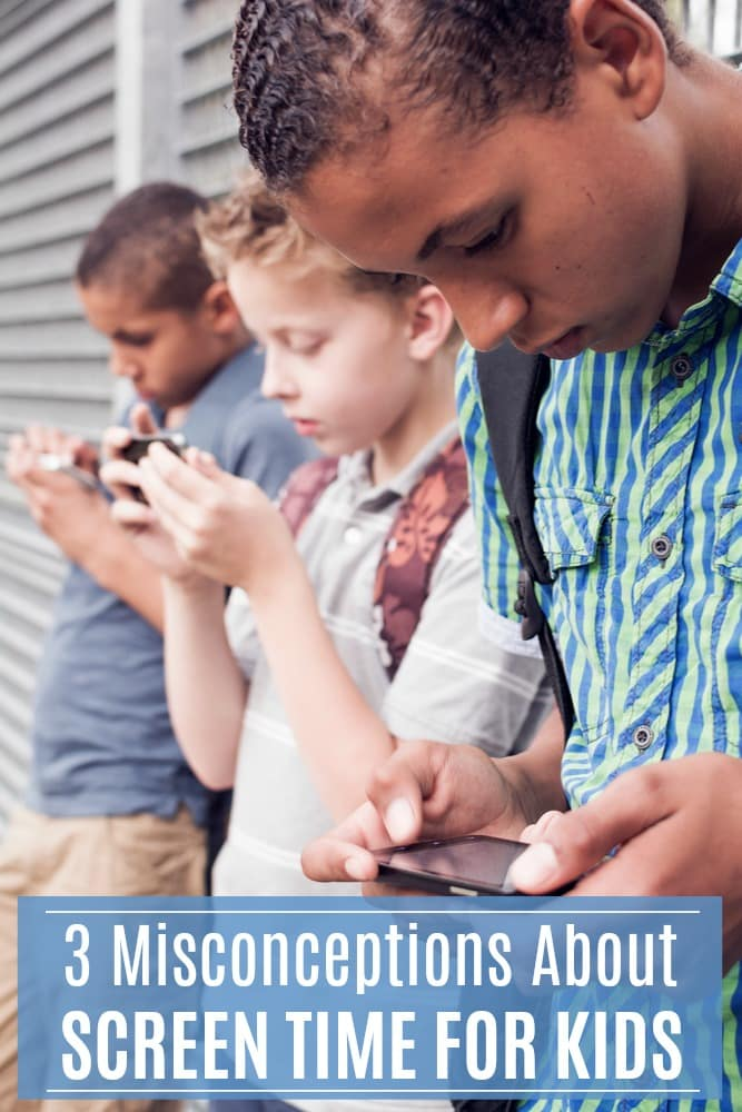 If you limit screen time for your kids, you might be surprised why I disagree with you. #kids #parenting #screentime