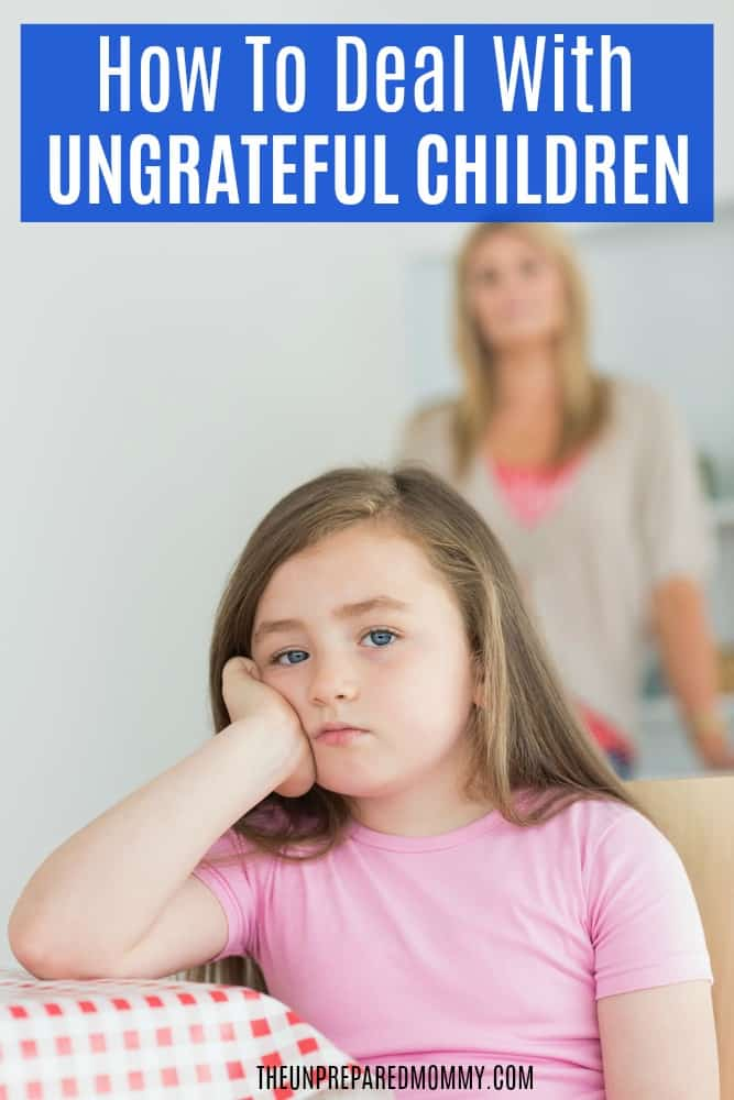 Ways to discipline your ungrateful children without losing your mind. #discipline #parenting #children
